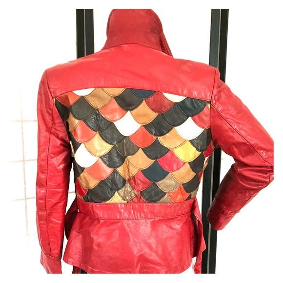 de00fc3e Jackets & Coats | Vintage 1970s Patchwork Leather Jacket | Poshmark